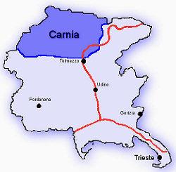 Cartina Geografica Carnia.Nuova Pagina 1