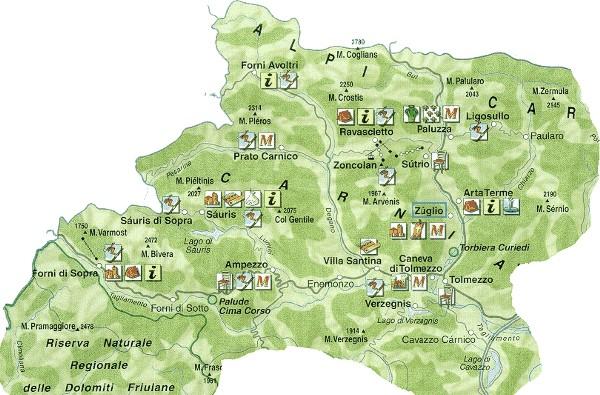 Cartina Fisica Del Friuli Venezia Giulia.Nuova Pagina 1